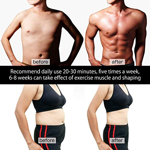 Ultimate EMS Muscle Trainer Workout Shape Fitness Toning Belt Waist TrimmerSet