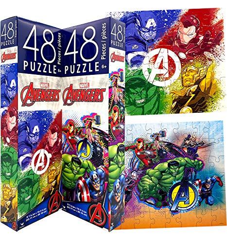 Kids Toddlers Boys Marvel Superheroes Avengers Jigsaw ...
